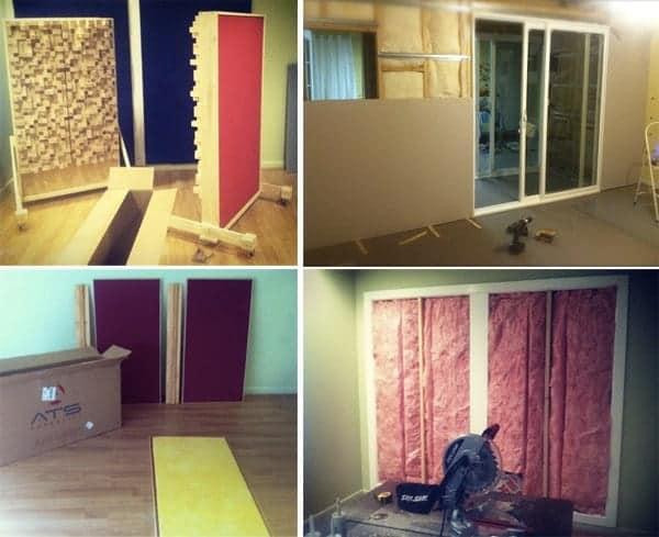 Production Studio Design, Vocal Booth Builds, Acoustic Treatment