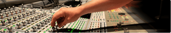 icon hand1 Audio Mixing