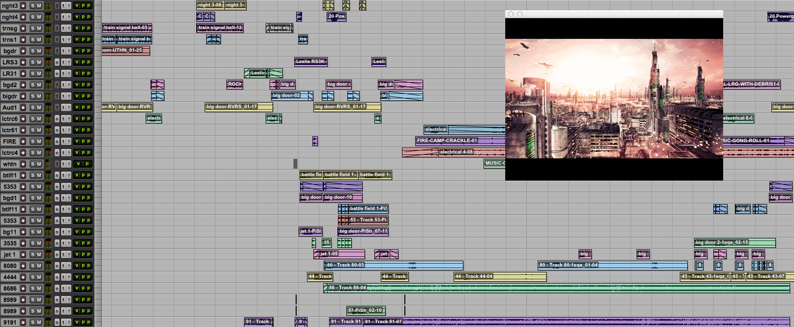 Audio Post-Production