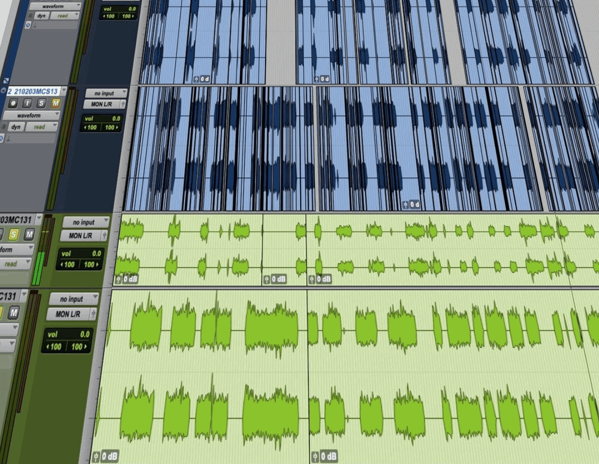 Audiobook Editing Cleanup
