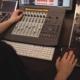 Audio Engineer Mixing